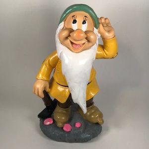 Disney Bashful Snow White garden gnome statue